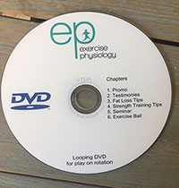 EP fitness DVD